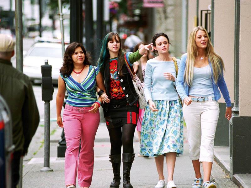Cena quatro amigas e um jeans viajante