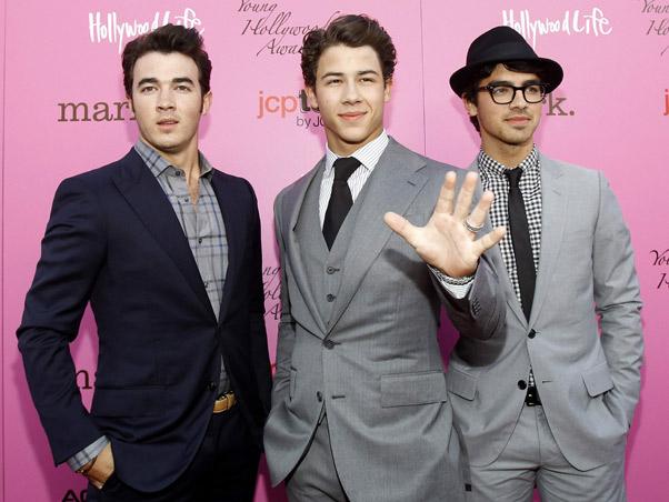 Jonas Brothers anel de pureza