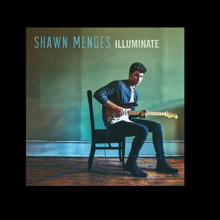 """Capa do novo álbum de Shawn mendes, """"Illuminate''"""