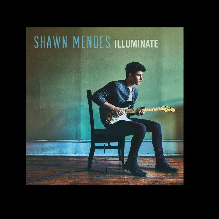 "capa do álbum ""illuminate'', do shawn mendes"