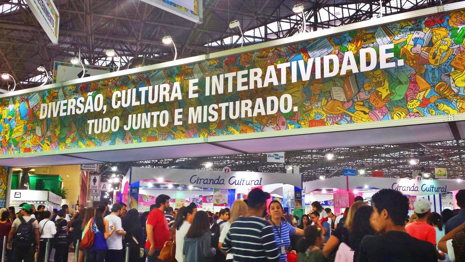 Saiba o que vai rolar na 24ª Bienal Internacional do Livro