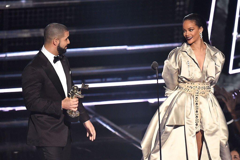 Rihanna e Drake premiação