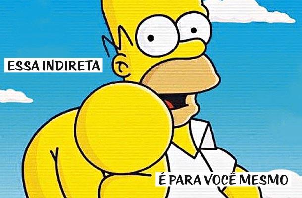 Meme do Homer Simpson