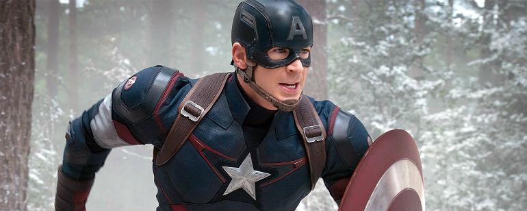 Steve Rogers como Capitão América