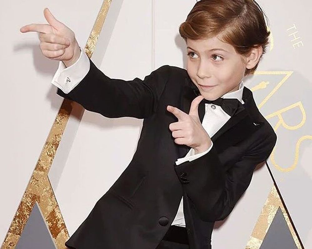 Jacob Tremblay no Oscar