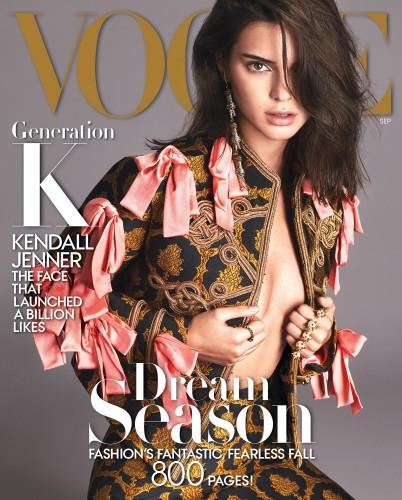 Kendall Jenner capa vogue americana