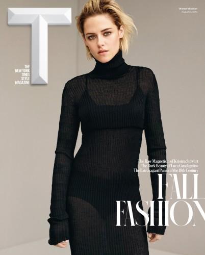 Kristen Stewart na capa da T Magazine