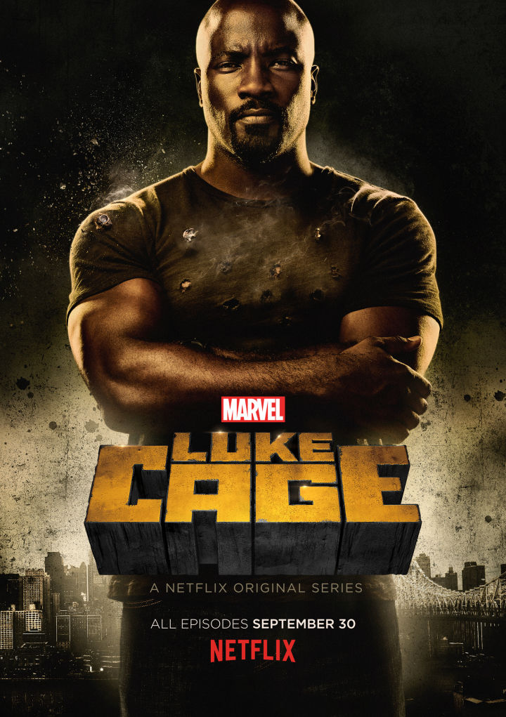 Luke Cage poster oficial