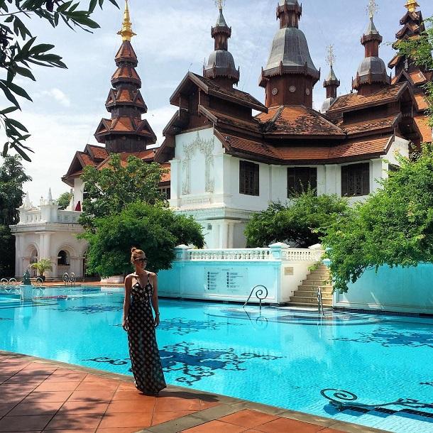Marina na Tailândia
