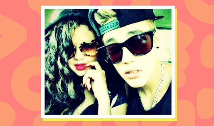 Selena Gomez e Justin Bieber juntos em selfie