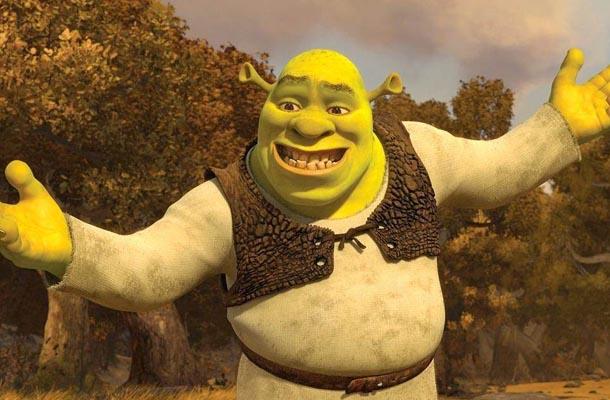 Ilustração do Shrek