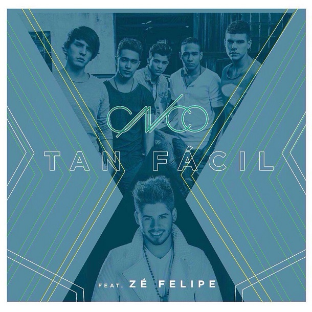 Capa do single de CNCO e Zé Felipe