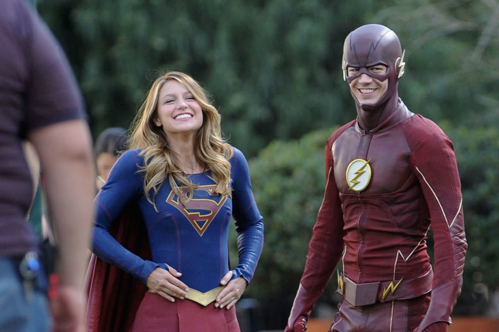 The Flash e Supergirl