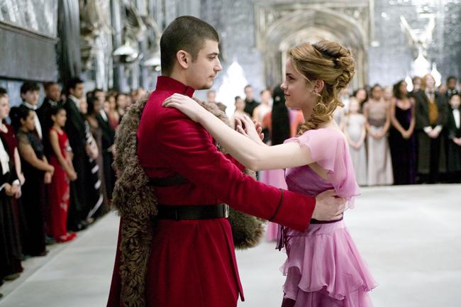 Viktor Krum e Hermione