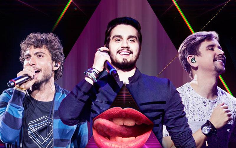 Luan Santana e Bruninho e Davi