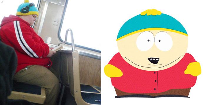 cartman de southpark da vida real