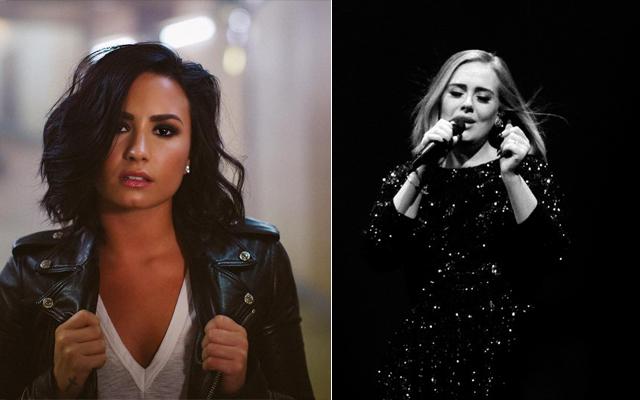 Demi Lovato faz cover de Adele