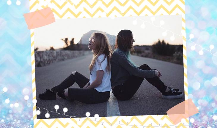 50 frases tumblr para ser a legenda da foto com sua miga