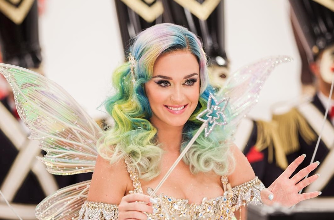 katy perry como fada