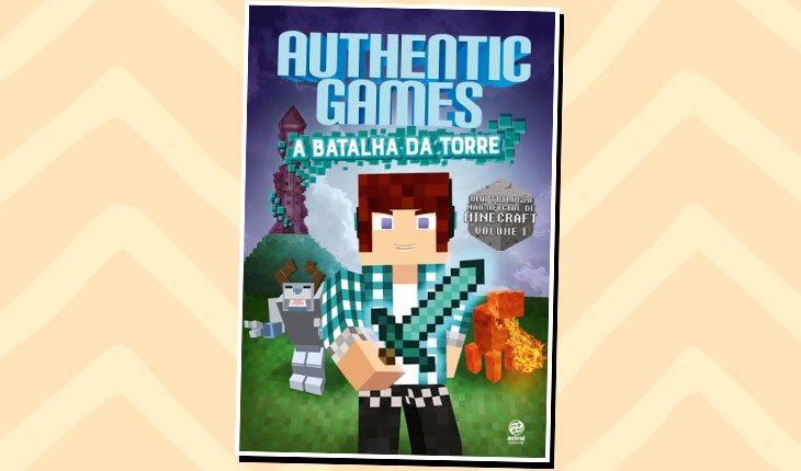 Livros de YouTubers: ''Authentic Games - A batalha da torre''