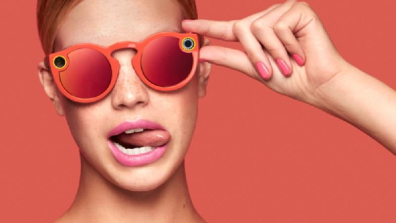 óculos com câmera do snapchat