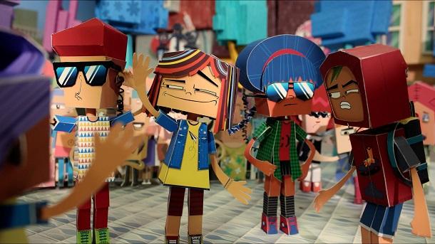Integrantes da animação Porto Papel