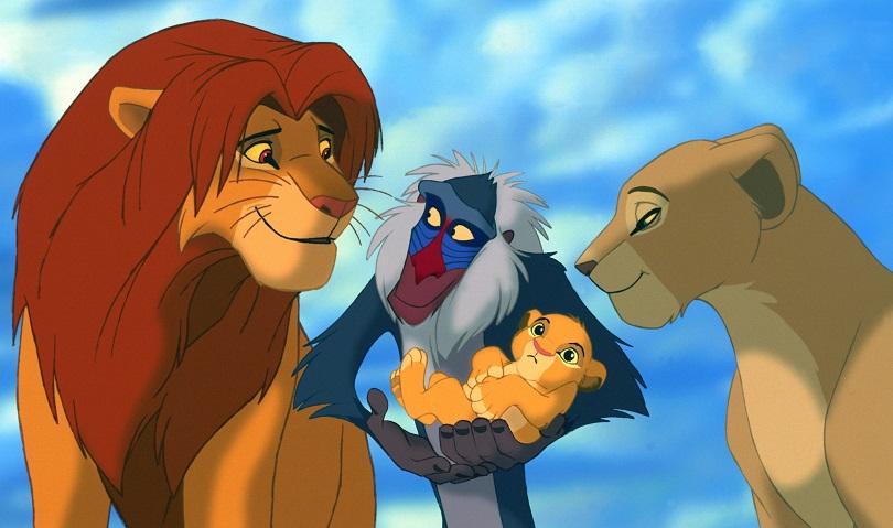 Cena de O Rei Leão