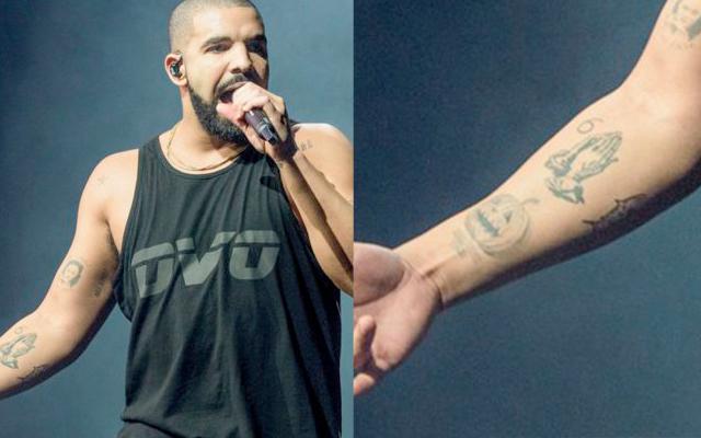 Drake e rihanna tatuagem