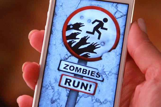 Zumbi Run aplicativo