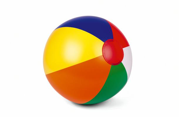 Bola colorida para o signo de áries