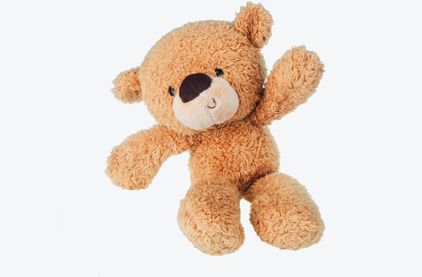 Brinquedo de libra: urso de pelúcia