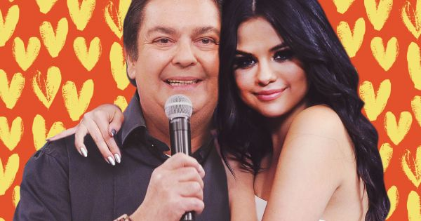 Faustão e Selena Gomez
