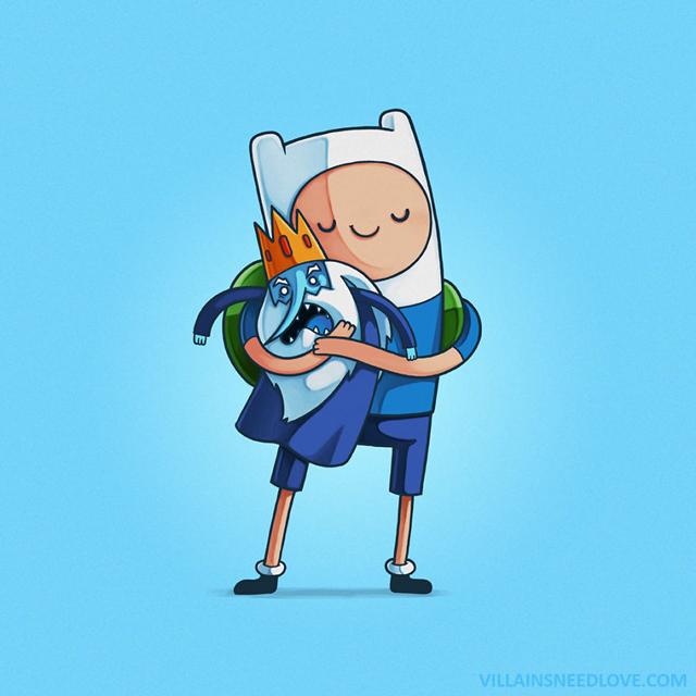 Finn e o Rei Gelado