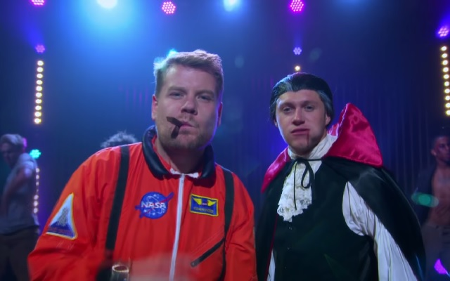 Niall Horan e James Corden