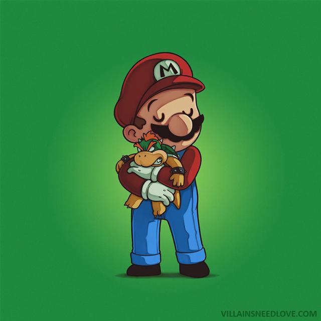 Mario e Bowser