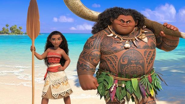 Moana e Maui, novo filme Disney