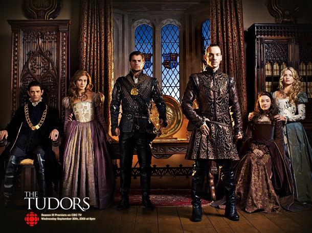 Elenco da série The Tudors