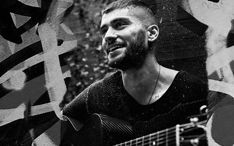 zayn e violão em preto e branco Still Got Time