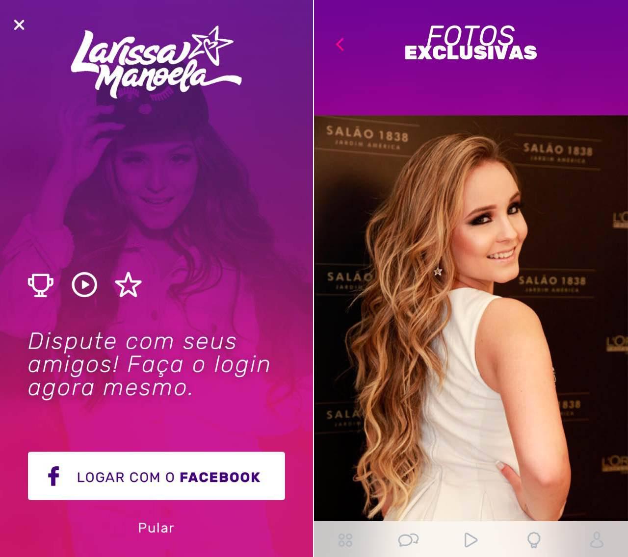 c3d4c792f0f34 Larissa Manoela lança aplicativo para os fãs