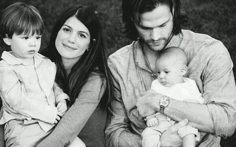 Jared Padalecki e sua família