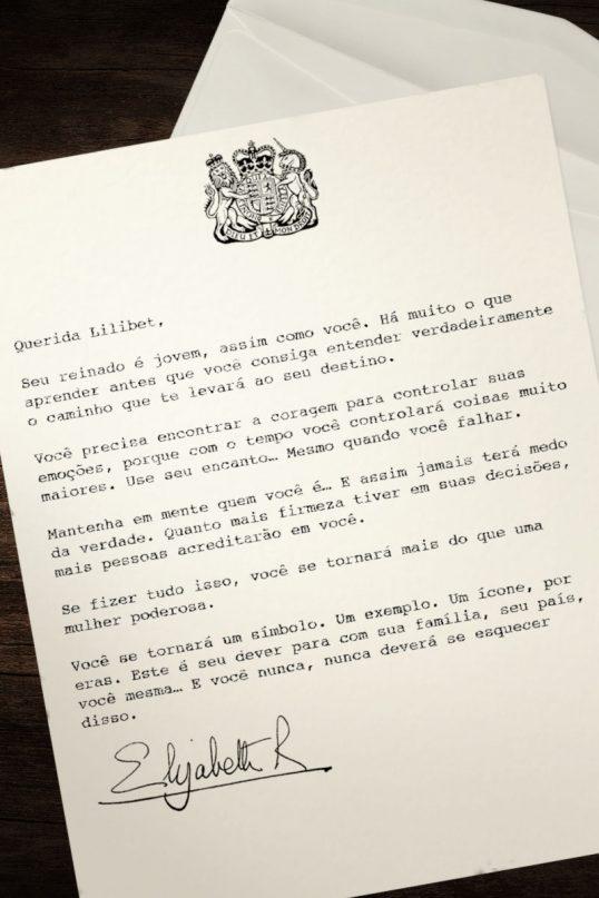 carta rainha netflix