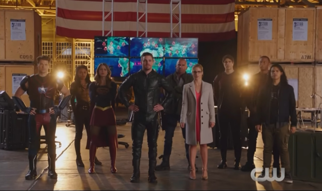 Teaser de crossover da DC