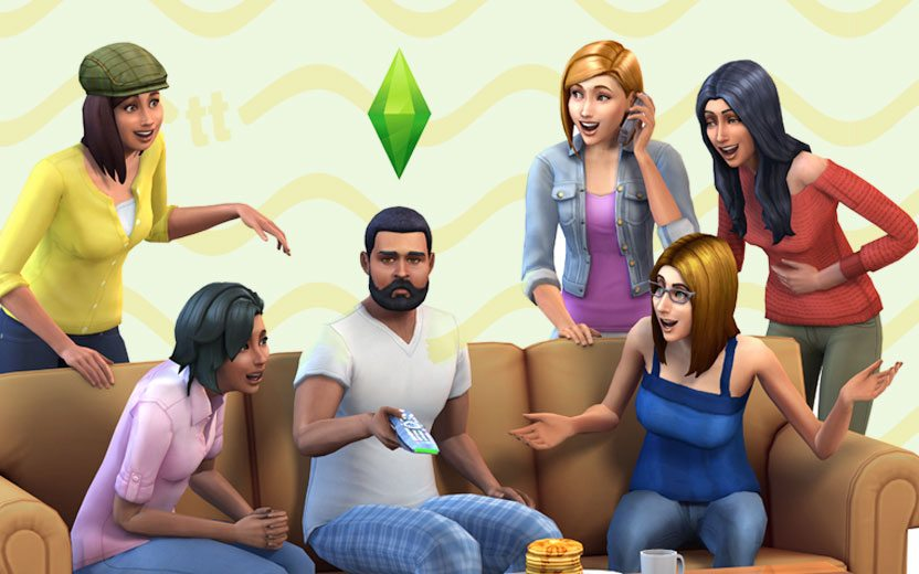 personagens do The Sims
