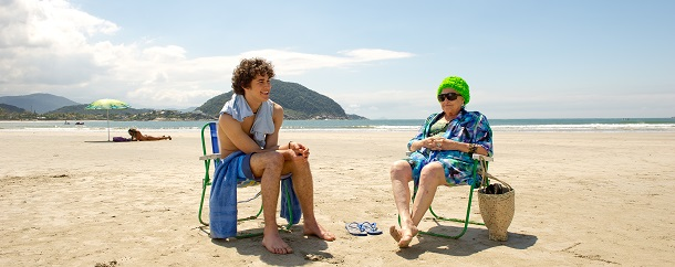 Cena do filme Eu Fico Loko na praia