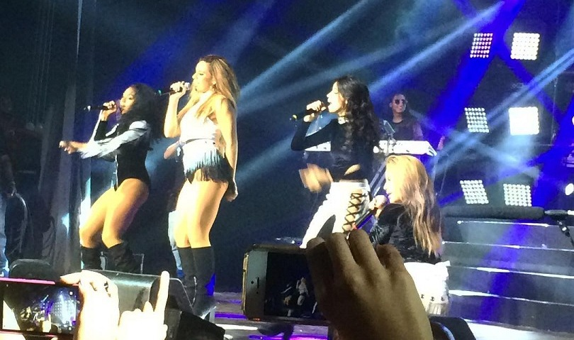 Fifth Harmony no palco do Fun Pop Fun