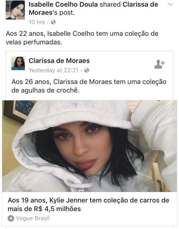 Clarissa de Moares coleção de cada signo