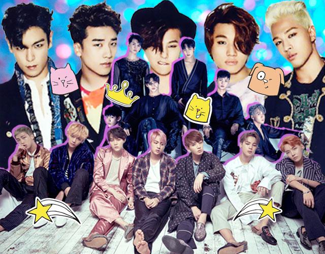 grupos de k-pop