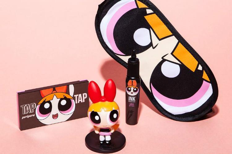 linha de maquiagem Meninas Superpoderosas
