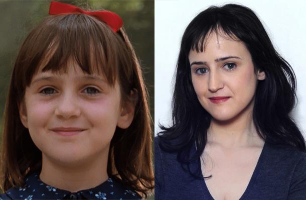 Antes e depois de Mara Wilson