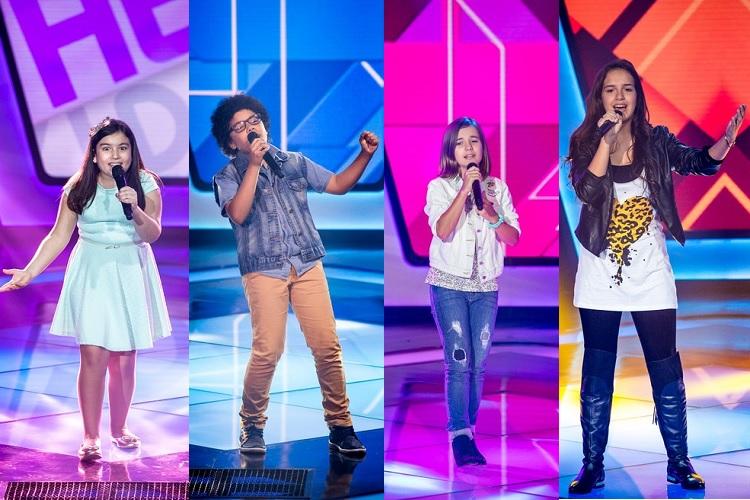 Participantes do The Voice Kids